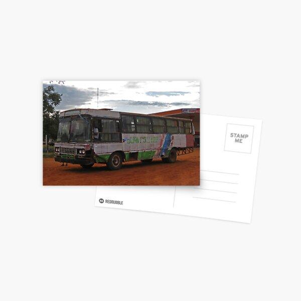 Public Transport ;o))  Postcard