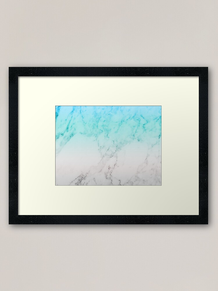 Marble Aesthetic Wallpaper Framed Art Print By Warddt Redbubble