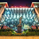 Busch Stadium - Saint Louis Cardinals and Stan Musial by Gregory Ballos