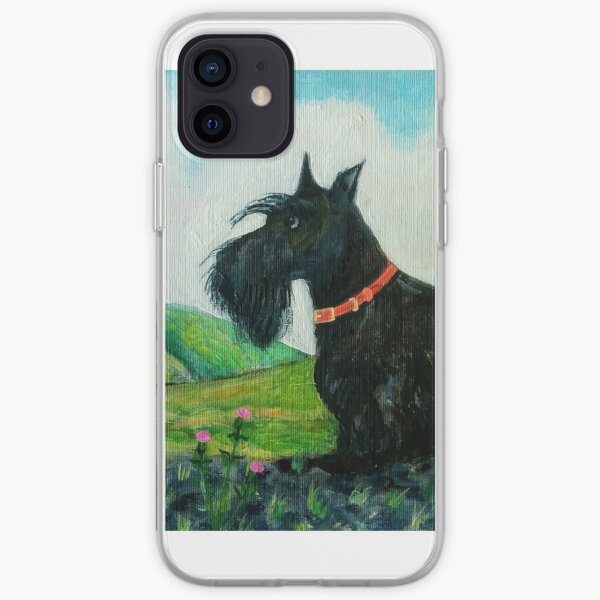 Angus the Scottish Terrier Dog iPhone Soft Case