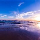 Sunset over Aireys Inlet, Victoria - 1 by axemangraphics