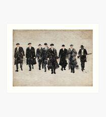 Peaky Blinders watercolour Art Print