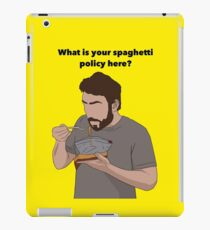 Sunny Spaghetti Design  iPad Case/Skin