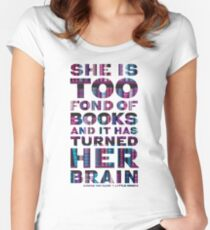 Little Women Book Lover Quote Women's Fitted Scoop T-Shirt