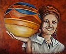 Pots For Sale, African Woman Collection by Susan McKenzie Bergstrom