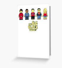 Big bang theory Greeting Card