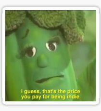 Indie Vegetable  Sticker