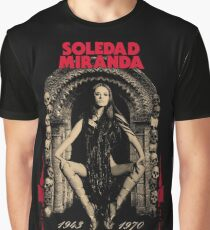 Soledad Miranda Tribute Graphic T-Shirt