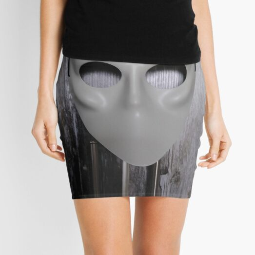 Mask, New York, Manhattan, Brooklyn, New York City, architecture, street, building, tree, car, pedestrians, day, night, nightlight, house, condominium,  Mini Skirt