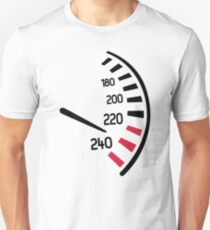 Racing speedometer T-Shirt