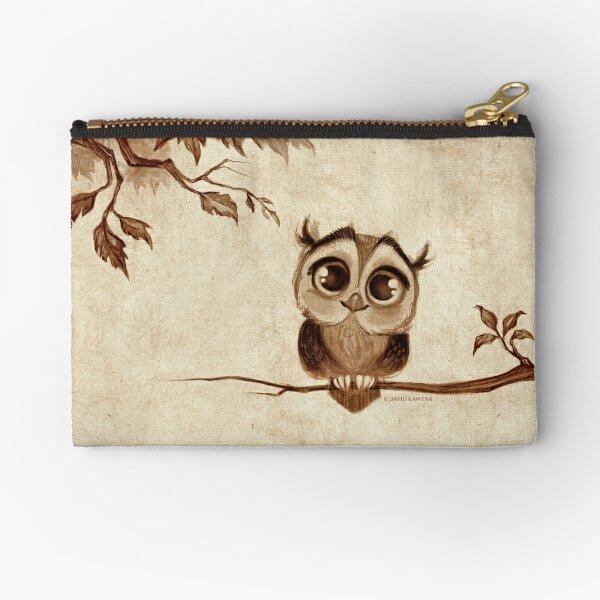 Doodle Series - Owl Pouch Zipper Pouch