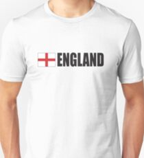 ENGLAND, English, Football, Soccer, Cross of St George, Sport,  Event Unisex T-Shirt