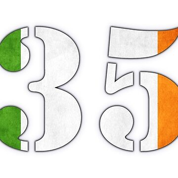 Ireland Country Code +353 Tshirt by ChillDesign