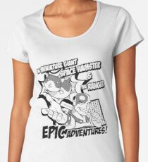 Epic Adventures! Women's Premium T-Shirt