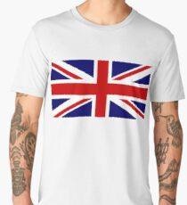 Union Jack, British Flag, UK, United Kingdom, Pure & simple, 1:2 Men's Premium T-Shirt