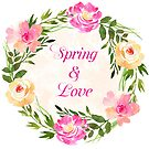 Spring and Love Greeting  by redgray