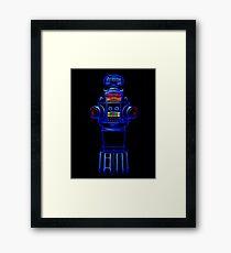 B9 Neon Framed Print