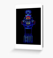 B9 Neon Greeting Card