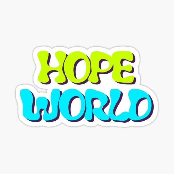 Hope World Pegatina
