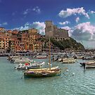 Lerici - The Bay and the Castle by paolo1955