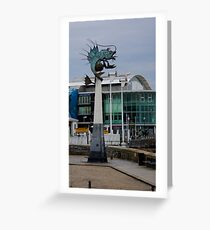 The Barbican & National Marine Aquarium Greeting Card