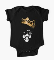 King Biggie Short Sleeve Baby One-Piece