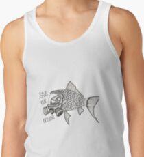 Save our oceans design  Men's Tank Top