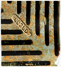 Rusted Poster