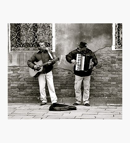 BUSKERS AT WORK (CREATIVITY) Photographic Print