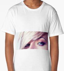 Close up eye with beautiful colors Long T-Shirt