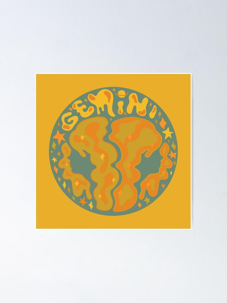 Alternate view of Gemini Poster