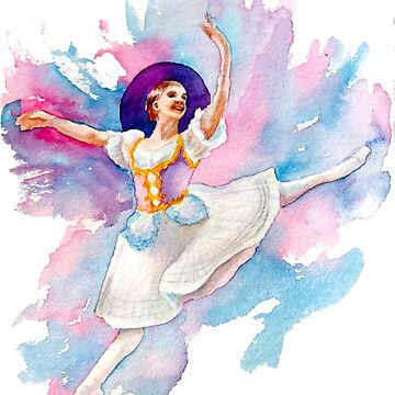Misty Copeland ballerina by sadiesavesit