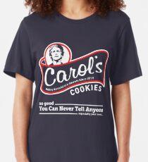 Carol's Cookies. Slim Fit T-Shirt