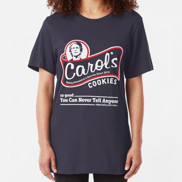 Carols Plätzchen. Slim Fit T-Shirt