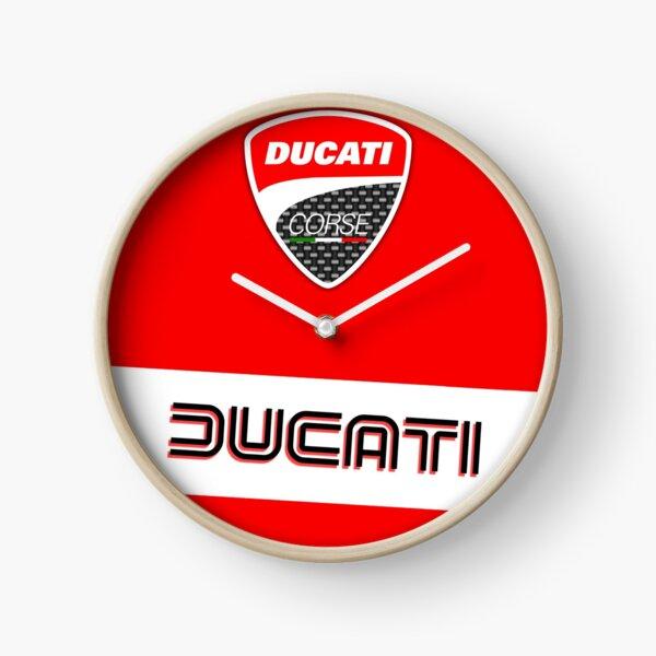 Ducati Corse Logo Clock