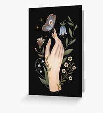 Gentle touch Greeting Card