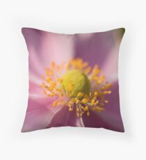 Purple flower I don't know the name of Throw Pillow