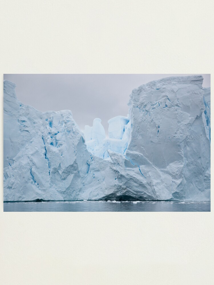 Alternate view of Sculpted iceberg Photographic Print