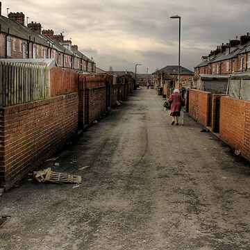 Through the backstreets of a Yorkshire mining Town by L18daw
