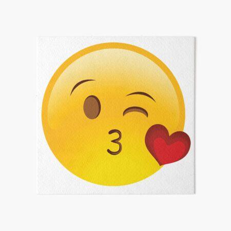Wangen mit kuss smiley bedeutung roten Welchen Unterschied