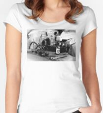 A1 Beer Women's Fitted Scoop T-Shirt