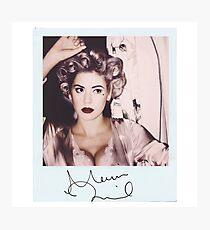 Marina and the Diamonds Photographic Print