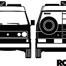 ROAM Syncro 4x4 Dirtbag Motel by ROAM  Apparel