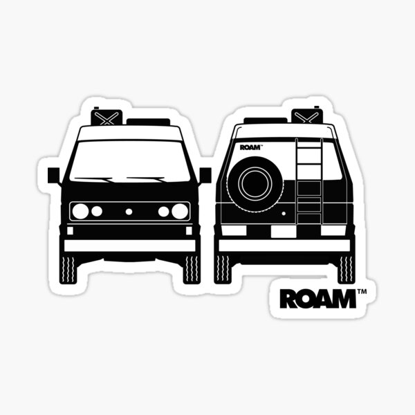 ROAM Syncro 4x4 Dirtbag Motel Sticker