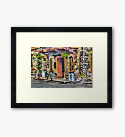 Buckfast Station Framed Print