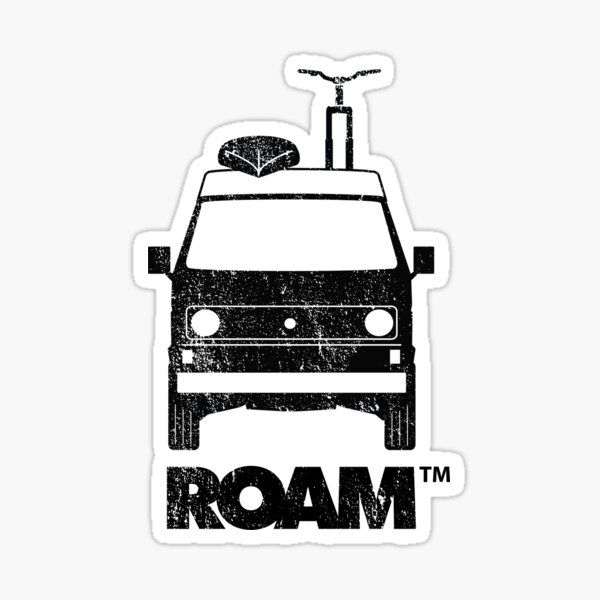 ROAM Westy Camper | Dirtbag Motel Sticker