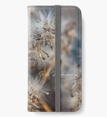 Flower hazard iPhone Wallet/Case/Skin