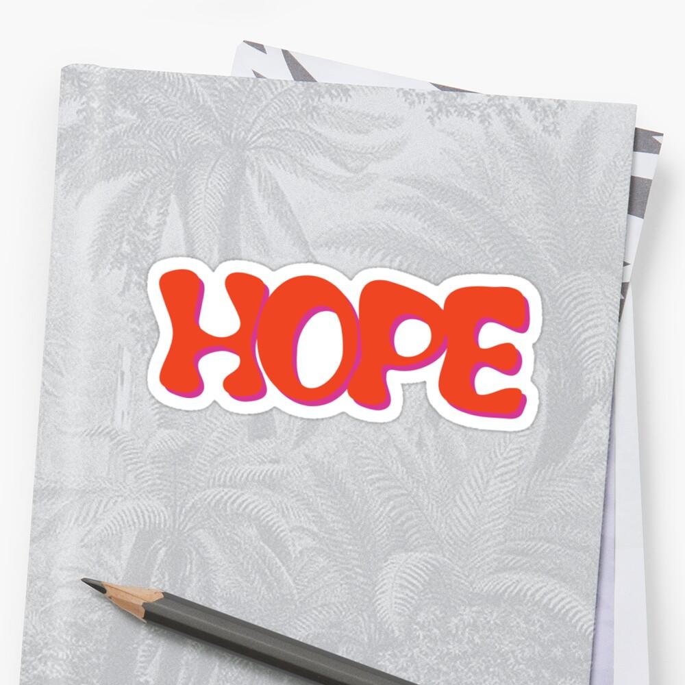 PegatinaHope - J-Hope (Hixtape) Delante