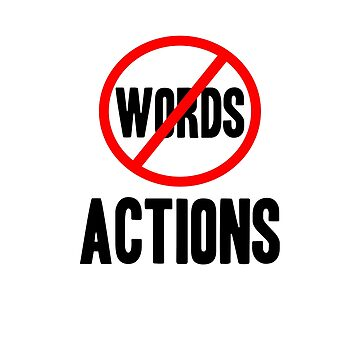 Words not Actions - Gun Control by jameelhye1