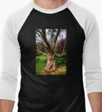 Twisting To Nature's Tune Men's Baseball ¾ T-Shirt
